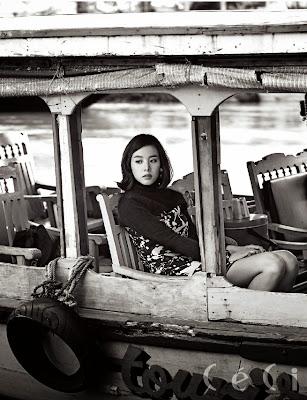 Jo Yoon Hee - Ceci Magazine December Issue 2013