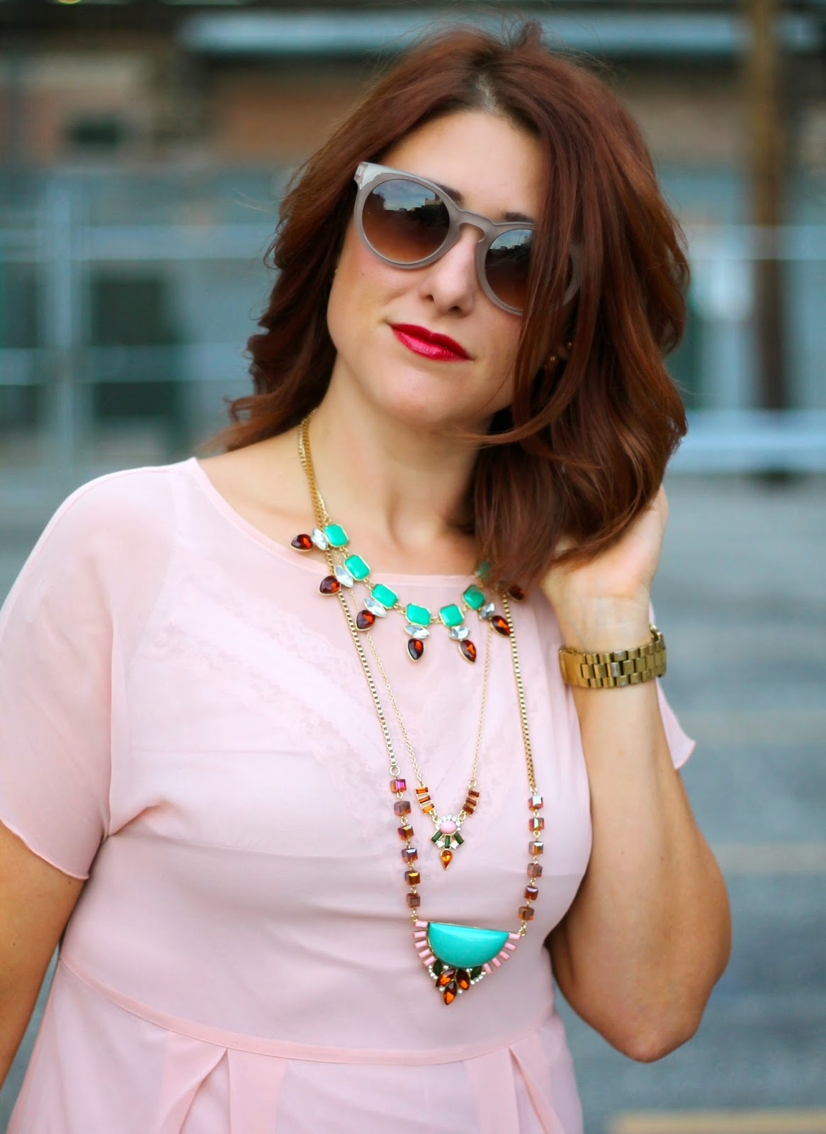 maurices, necklace, layered
