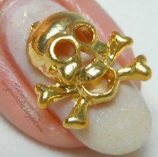 """Sassy Paints: Lucky 13 Lacquer """"Golden Snitch"""" & Born"""