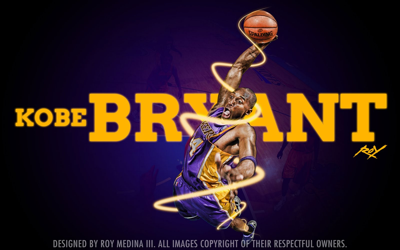 Kobe Bryant - Lakers 2011 Dunk Widescreen Wallpaper ~ Big ...