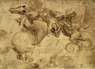 Leonardo da Vinci. Dragon