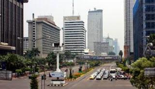 Jelang Rekapitulasi KPU, Jalanan Jakarta Lengang