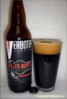 Verboten Brewing Killer Boots Caramel Porter