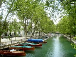 مدينة أنسي في فرنسا