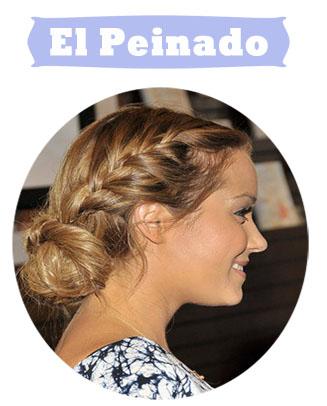 Lauren Conrad Trenzas Novia Peinado