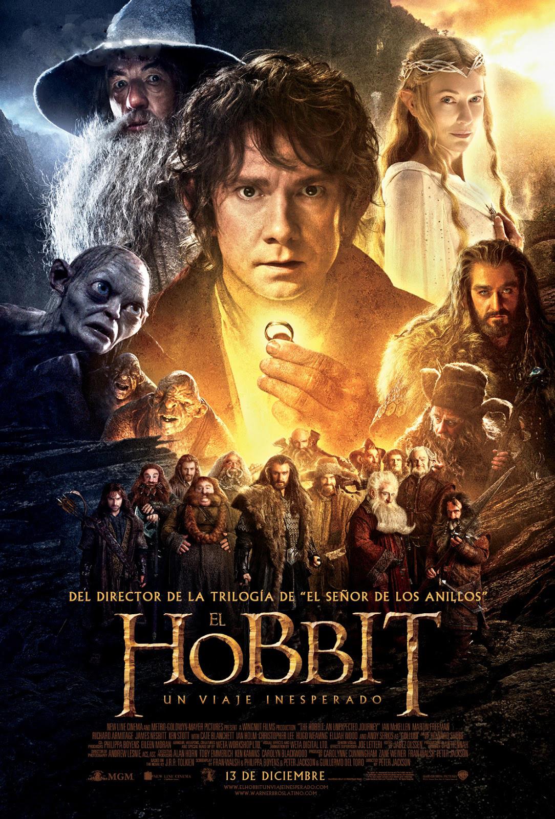 el hobbit un viaje inesperado la primera parte de la adaptacion de
