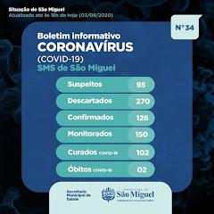Boletim Epidemiológico 34 - São Miguel - RN