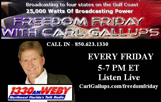 Click Image for Freedom Friday Podcasts