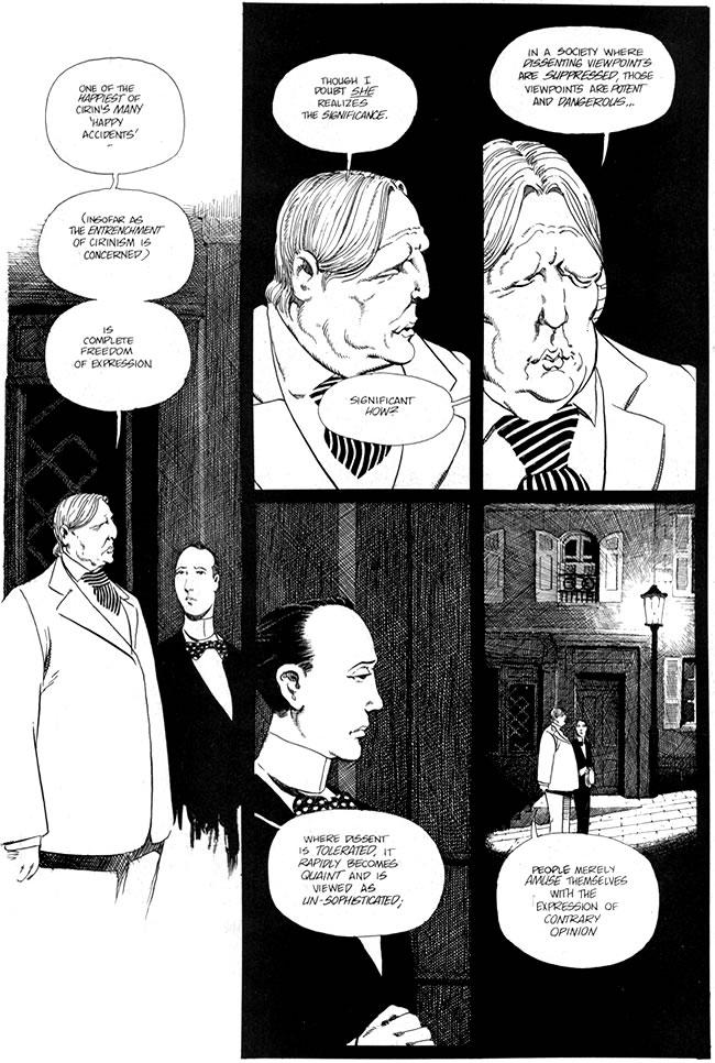 17 - Les comics que vous lisez en ce moment - Page 33 Cerebus_140_oscar