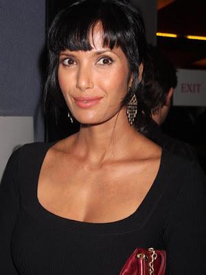 Padma Lakshmi Sterling Chandelier Earrings