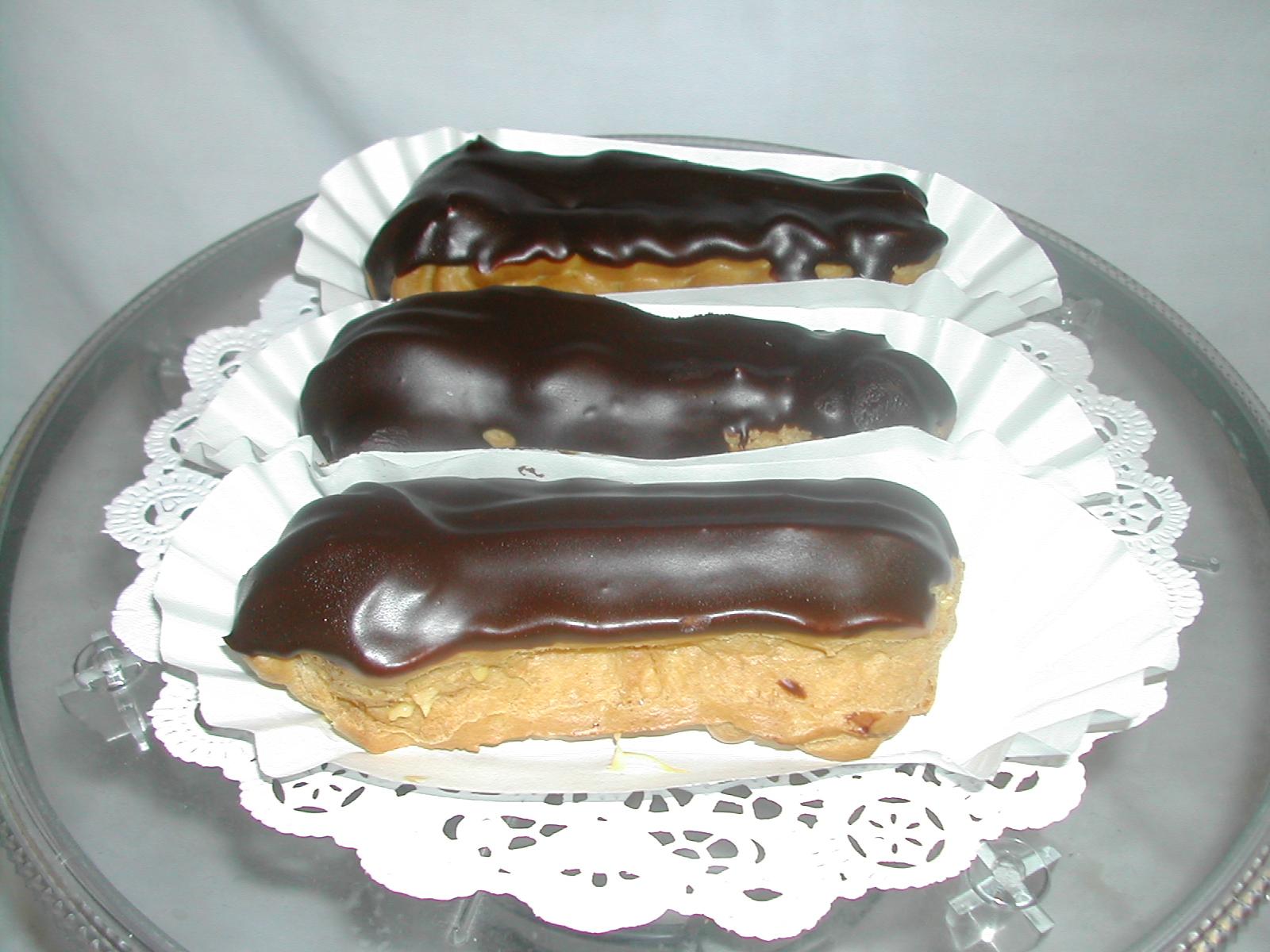 Chocolate Eclairs Recipe — Dishmaps