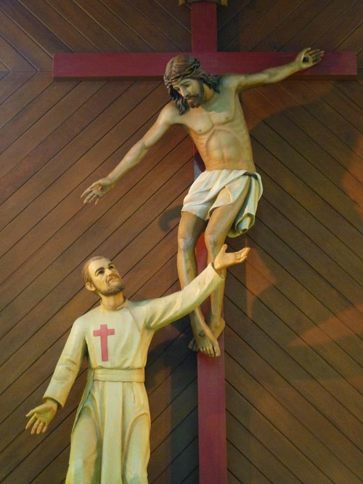 San Camillo e il crocefisso