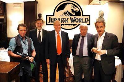 Memes cena Rey Juan Carlos y ex-presidentes del Gobierno