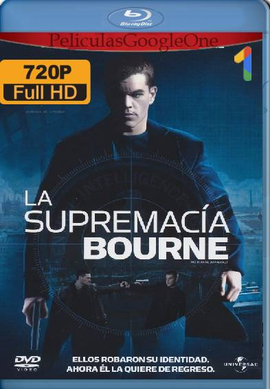 La Supremacía Bourne (2004) BDRip [720p] [Latino] [GoogleDrive]