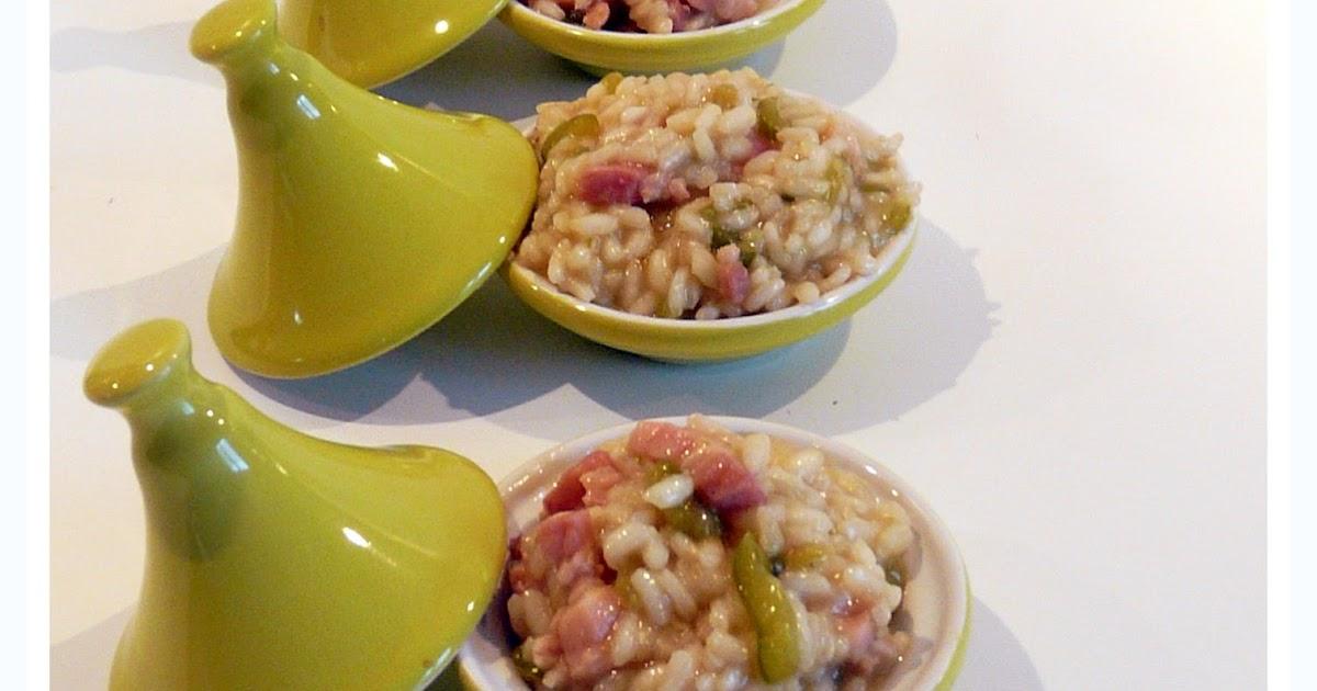 Flo bidouille en cuisine risotto aux lardons et poivrons - Quelle quantite de riz par personne ...