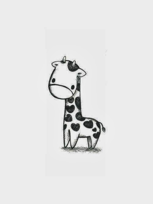 Cute Giraffe Drawings