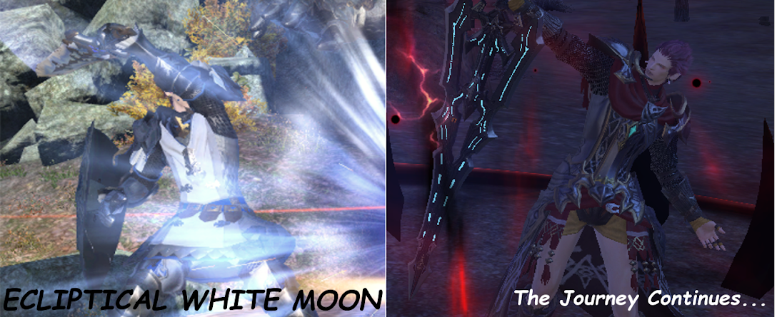 Ecliptical White Moon