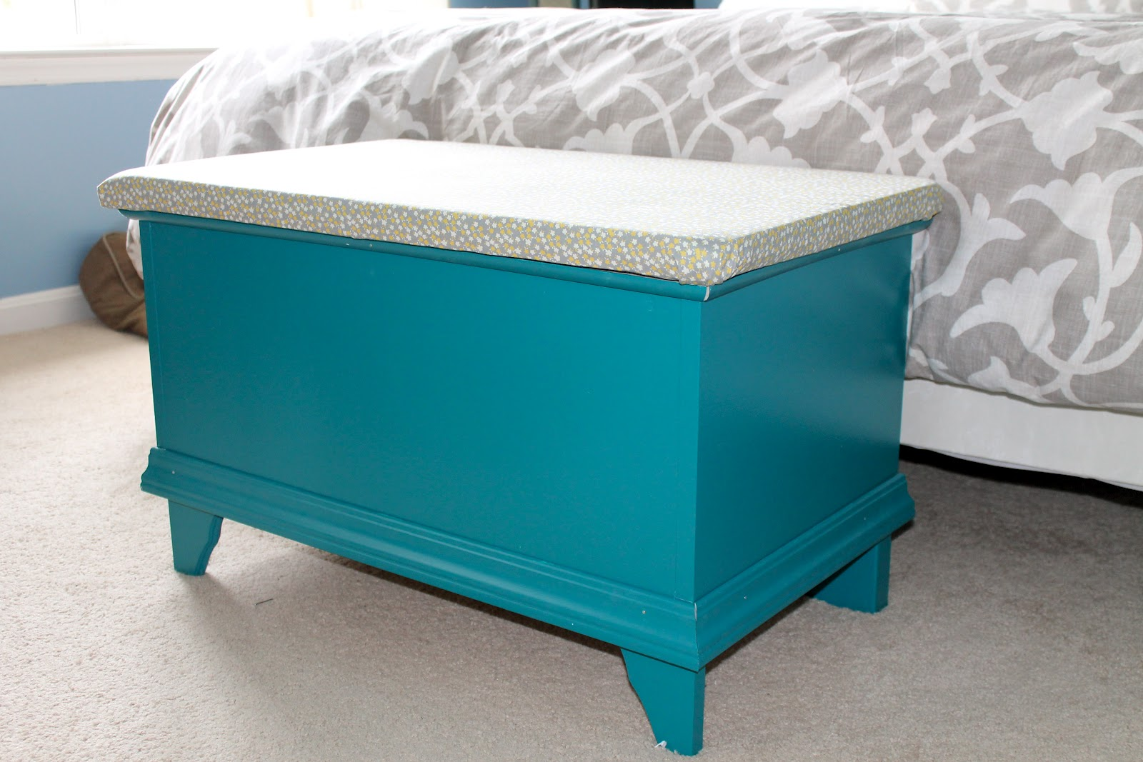 Sadie Lady Ikea Hack Storage Bench