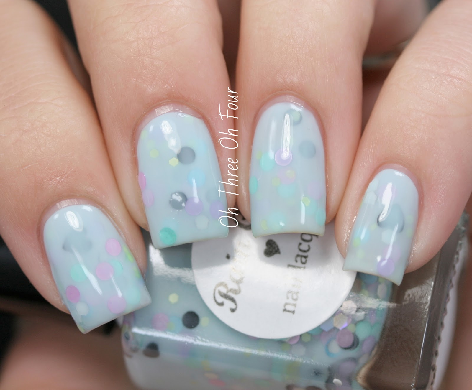 Rain City Lacquer Blackberry Macaron Swatch