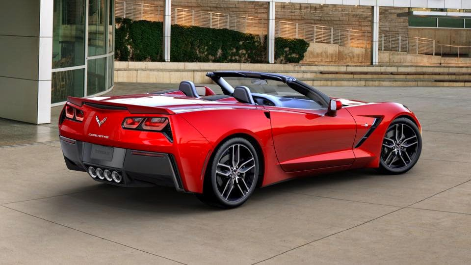 Jeff Gordon Children's Foundation - 2015 Corvette Convertible Stingray
