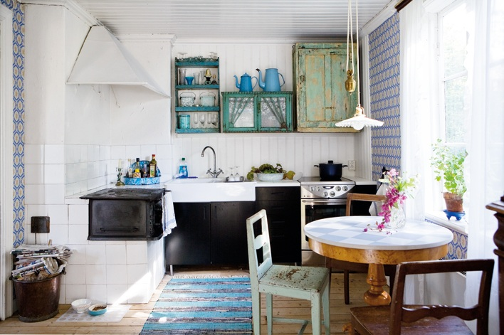 My scandinavian home turquoise and greens in a beautiful - Decoracion estilo mediterraneo ...