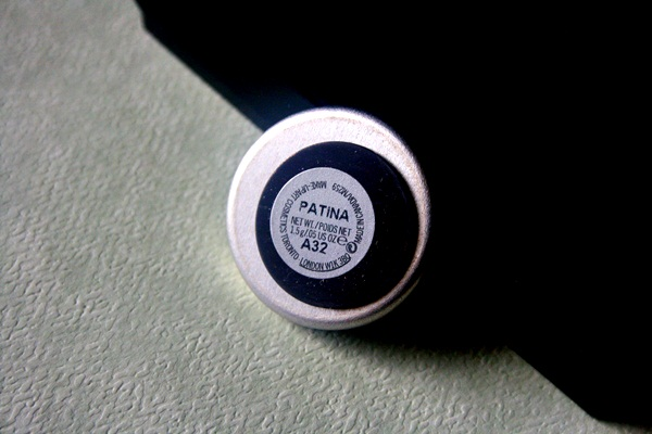 MAC Patina Eye Shadow Review