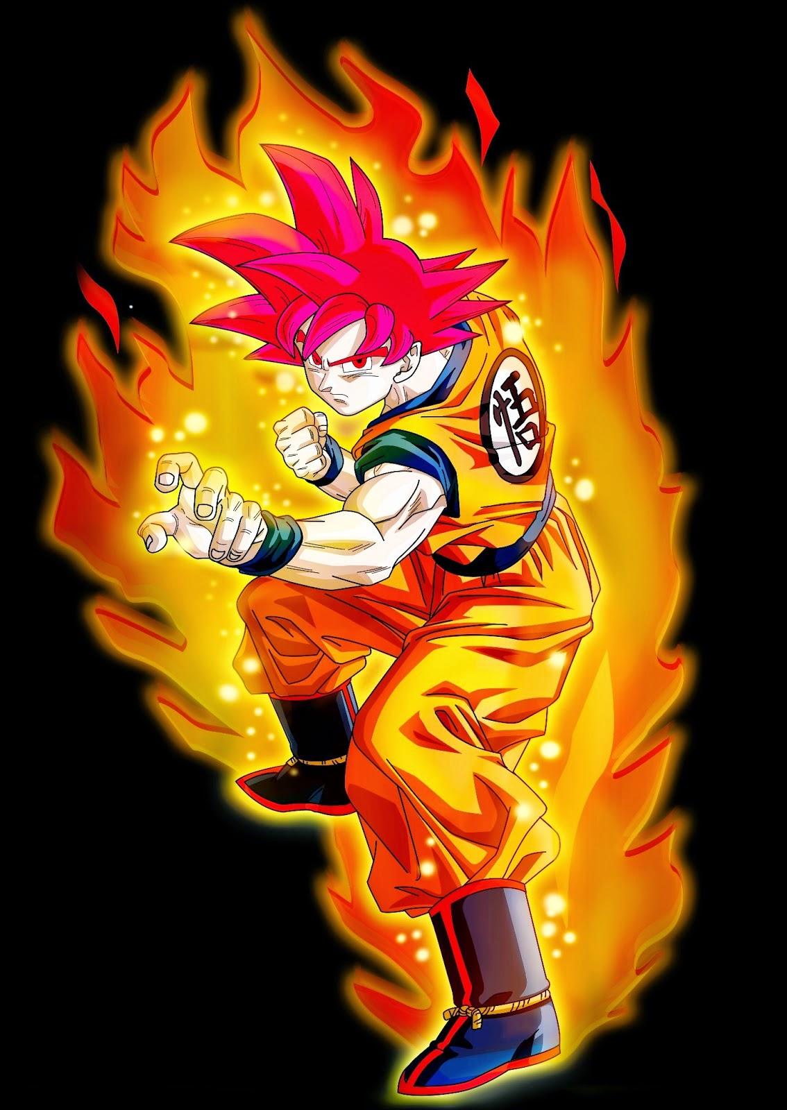 Goku dragon ball super vs jin mori god of highschool - Sangoku super saiyan god ...
