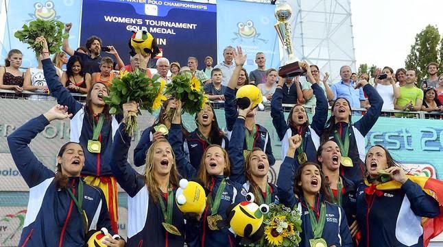 WATERPOLO - Las españolas ya son leyenda en Europa