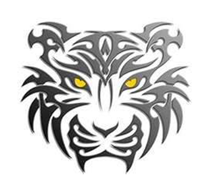 Amazing Tribal Tiger Animal Tattoo For Men Ideas