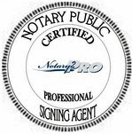 Notary 2 Pro Certification Seal