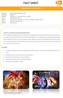 dragon ball z battle of z fact sheet Dragon Ball Z: Battle of Z (360/PS3/PSV)   Screenshots & Fact Sheet Image