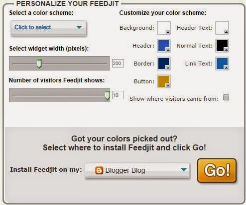 feedjit customize