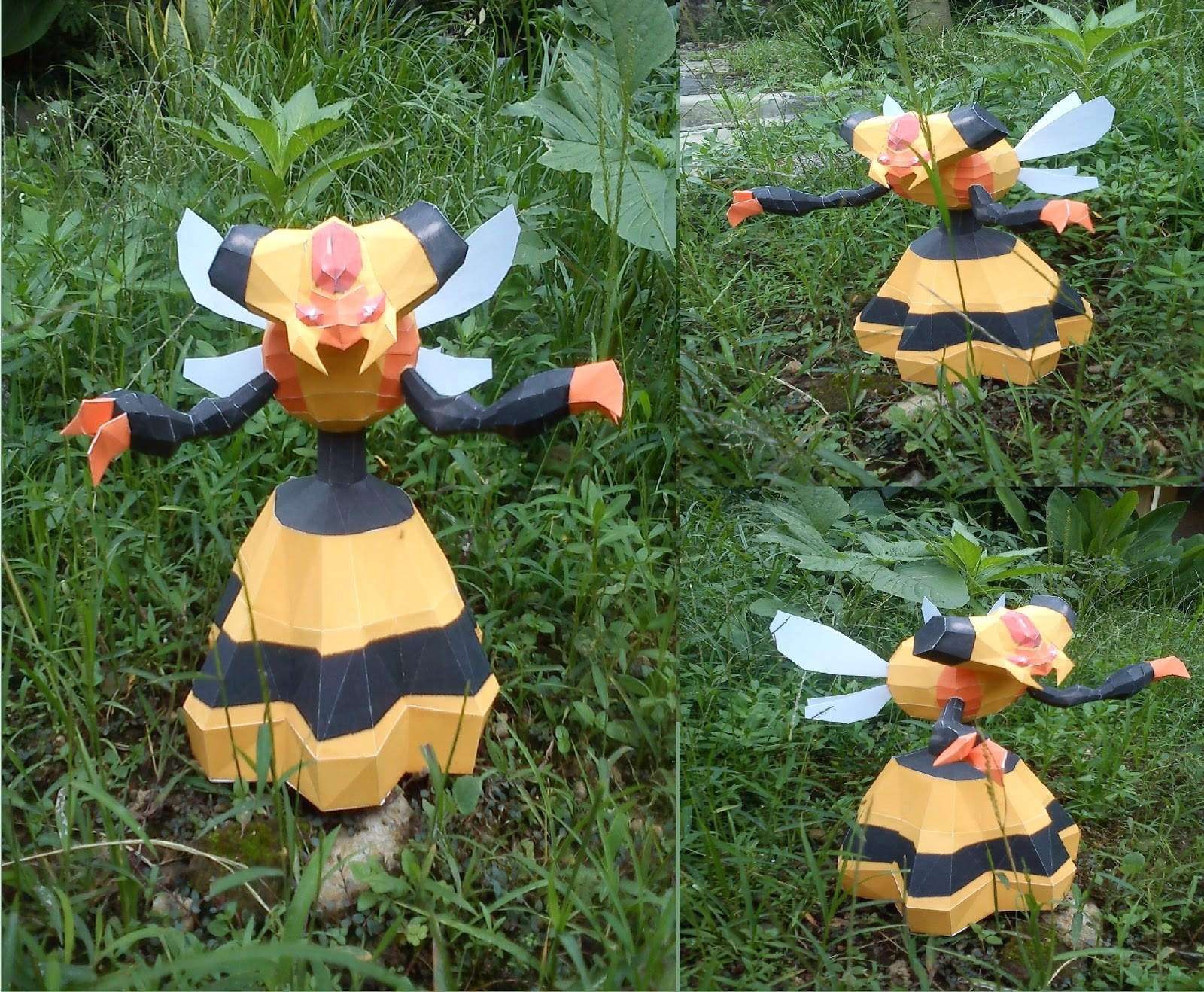 Pokemon Vespiquen Papercraft