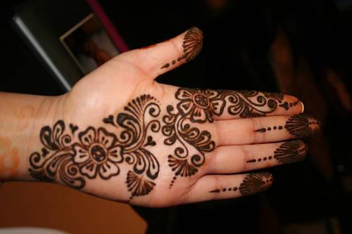 La Ink Tattoos Lion Arabic Henna Designs For Eid