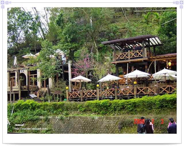 勝興車站旁的咖啡廳