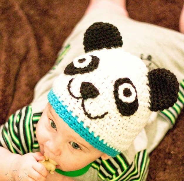 Crochet Dreamz: Panda Animal Hat Crochet Pattern, Newborn ...
