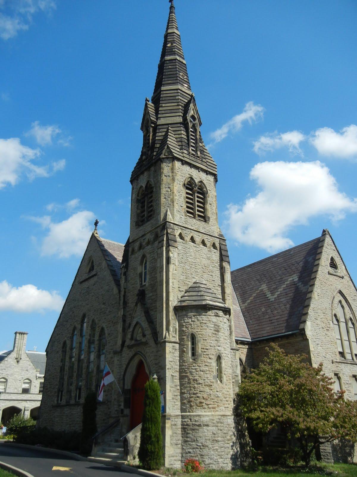 queen city tour  calvary episcopal church