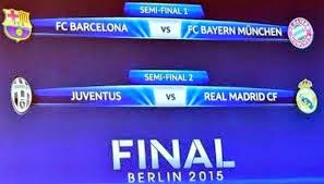 Partidos de Semifinales de la Champions League 2015