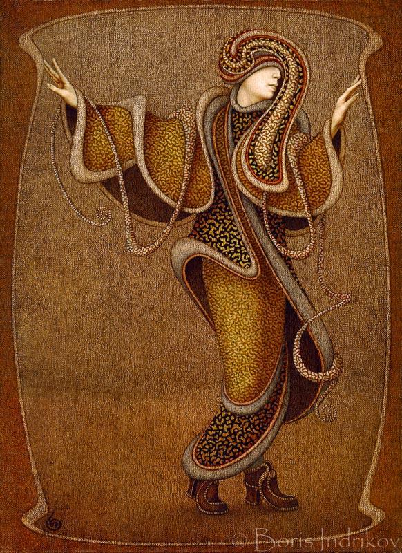 Boris Indrikov 1969 | Russian  Magical Realism painter