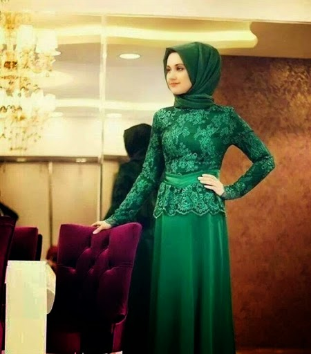 Model 2. Hijab Kebaya Modern Terbaru 2015