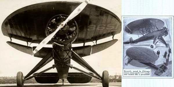 bentuk pesawat paling aneh di dunia