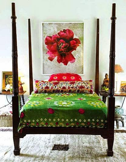 Bohemian style interiors/lulu klein