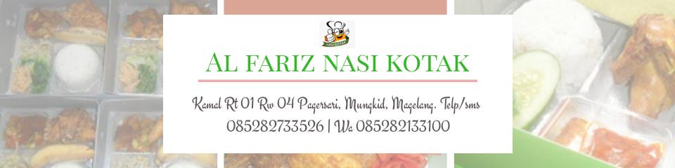 AL FARIZ Nasi Kotak Magelang | Nasi Kotak Magelang | Nasi Kuning Kotak | Sego Megono