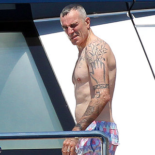 Oscar-winning Daniel Day Lewis is a fan of tattoos