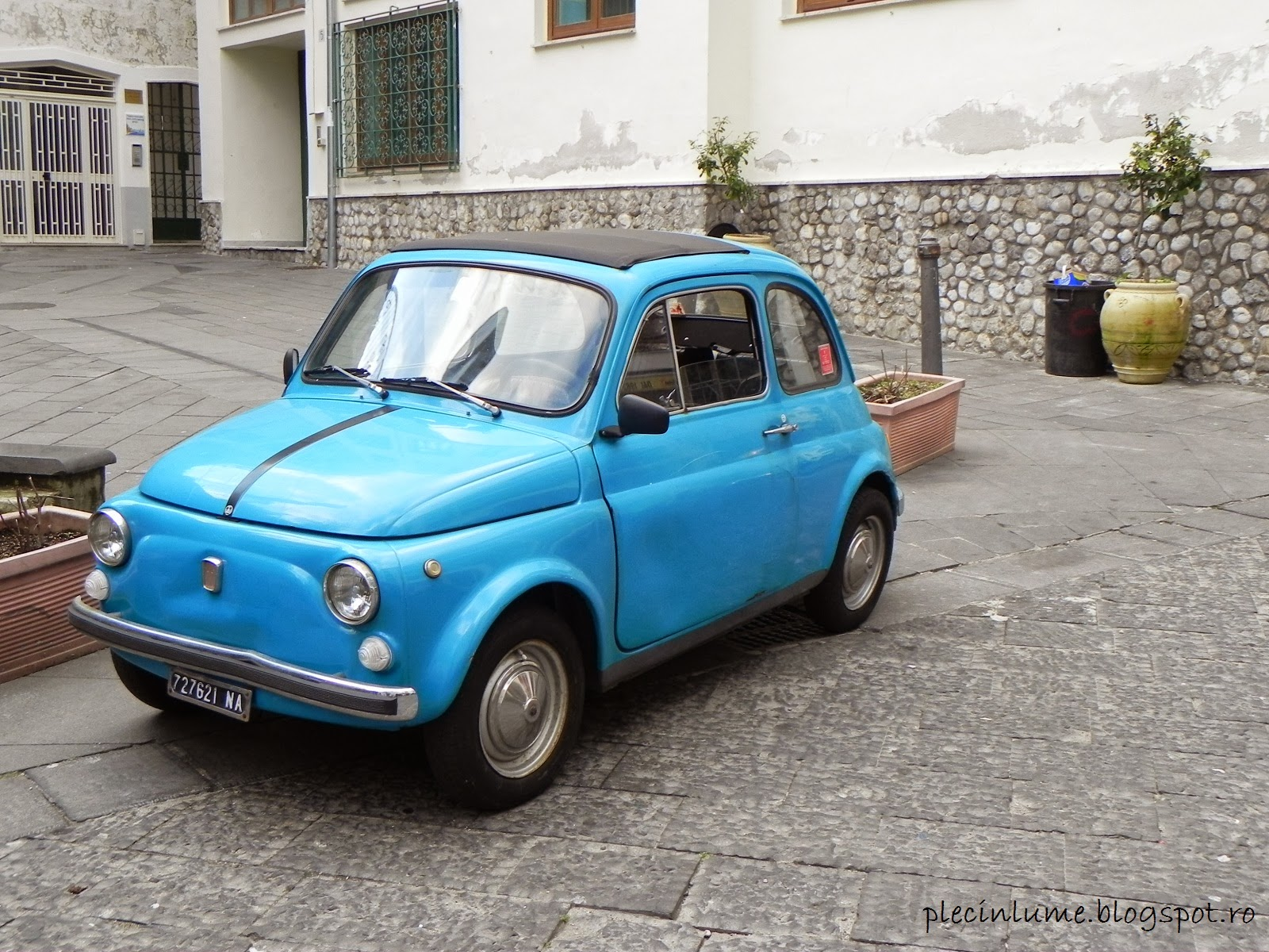 Fiat in Amalfi