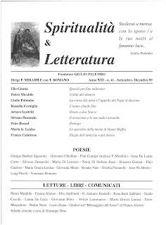 Recuperi/39 - AA.VV., Spiritualità & Letteratura, n. 41