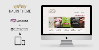 Kauri, Responsive Wordpress Theme