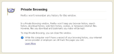 Fitur Private Browsing Mozilla Firefox