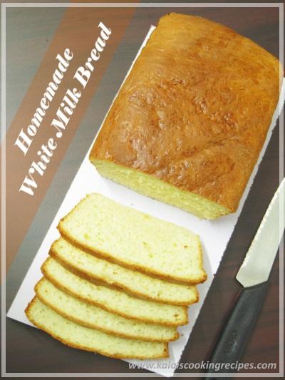Homemade White Milk Bread