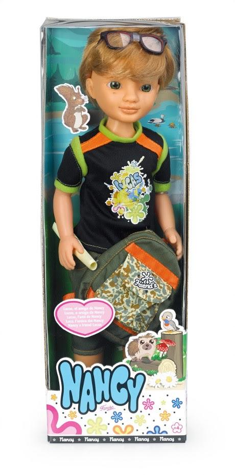 JUGUETES - NANCY  Lucas el amigo de Nancy | Muñeco | Muñeca  Producto Oficial | Famosa 700011273 | A partir de 4 años